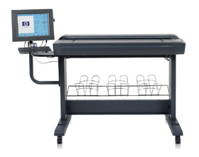 HP DesignJet Scanner 4500 Plotter